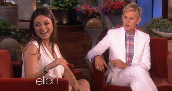 Mila Kunis svela le sue insolite voglie durante la gravidanza