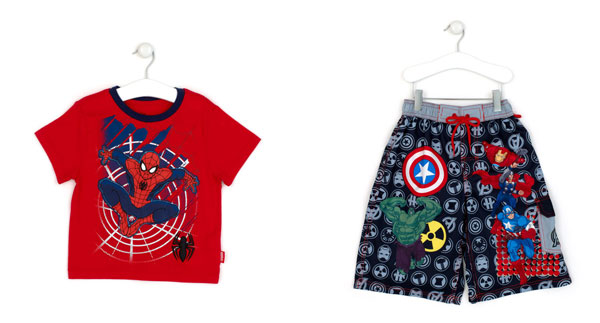 best website 11ab3 a0916 Costume da mare degli Avengers e t-shirt di Spider Man: in ...