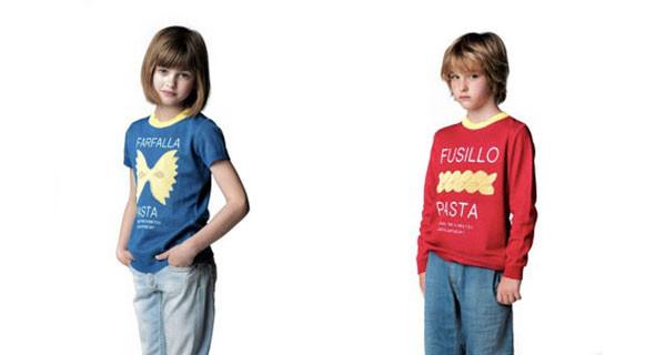 ANITALIANTHEORY a Pitti Bimbo 79 con la collezione Kids ispirata alla pasta italiana