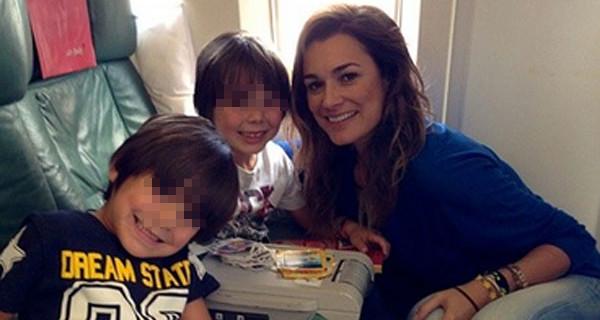 Alena Seredova e Gigi Buffon vicini per i figli. Tutti in Brasile per Italia-Costa Rica