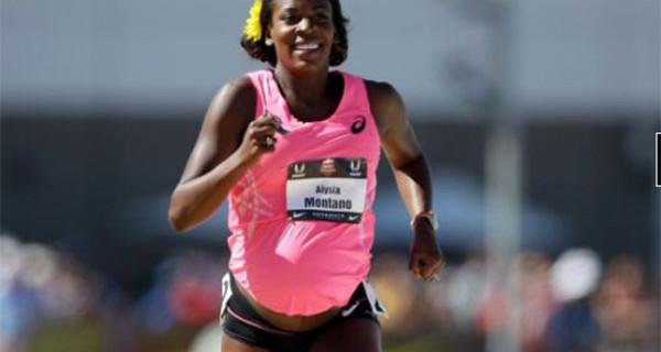 Alysia Montano e la sua impresa: ha corso 800 metri con il pancione
