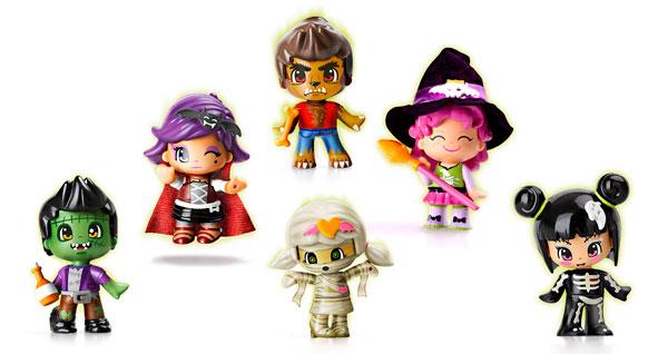 Bambole PinyPon della linea Terrore. Perfette per la notte delle streghe!