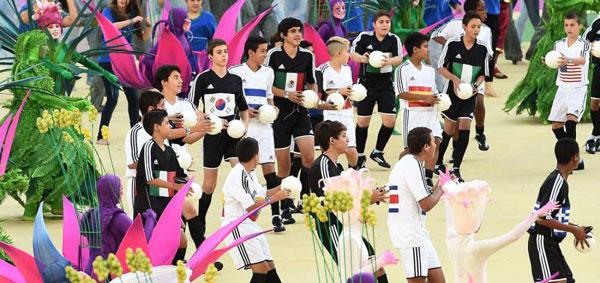 Mondiali di Calcio 2014: i bambini protagonisti della cerimonia di apertura a San Paolo