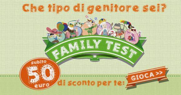 CHE GENITORE SEI? SCOPRILO CON IL TEST DI BABY CENTER BY TOYS E RICEVI DEI BUONI SCONTO