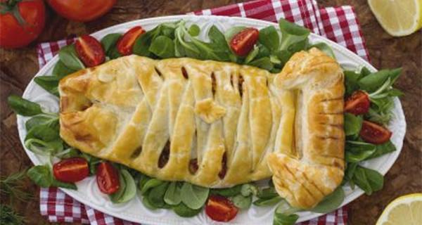 Filetti di branzino in pasta brisè senza glutine: la ricetta per tutti i bambini e anche per i celiaci
