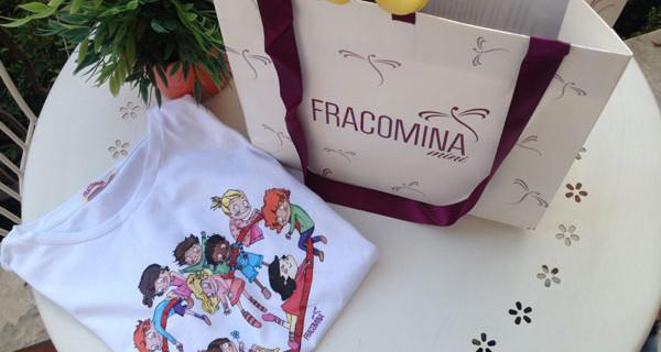 Sostieni l'adozione dei bambini del Brasile con la t-shirt di Fracomina Mini
