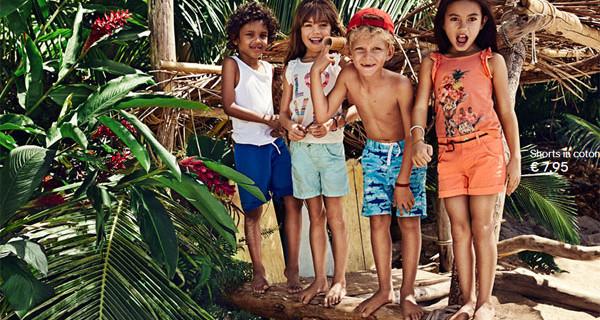 H&M Kids: colori, stampe e fantasia per la collezione Estate 2014