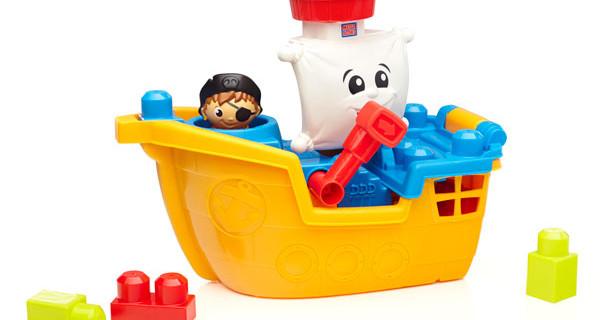 First Builders: i nuovi Mega Block per bambini dedicati alle avventure navali
