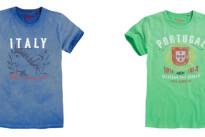 Pepe Jeans London dedica una limited edition di t-shirt per bambini ai Mondiali di Calcio