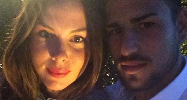 Micol Olivieri, incinta al sesto mese di gravidanza, tra una settimana sposerà Christian Massella
