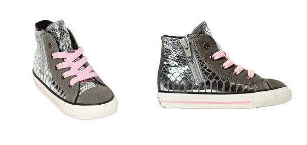 scarpe bambina stile converse