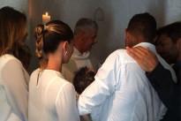 Melissa Satta e Kevin Prince Boateng: le prime foto del battesimo di Maddox