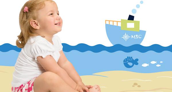 """In crociera con i bimbi? Su MSC Crociere ci pensa Chicco. La vacanza """"a misura di baby"""""""