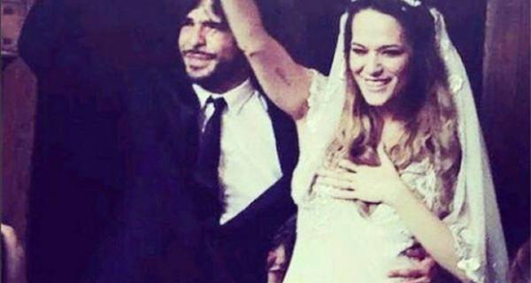 Laura Chiatti è incinta e Marco Bocci diventa papà, l'annuncio al loro matrimonio