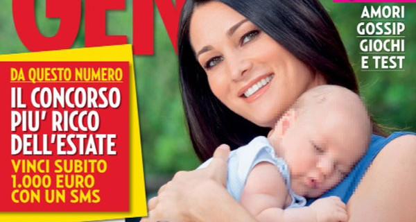 """Intervista a Manuela Arcuri: """"Dopo Mattia sono pronta per un altro figlio"""""""