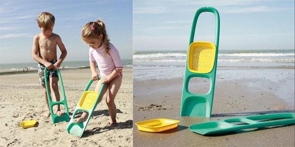 Pala da spiaggia Scoopi by Quut: un ottimo alleato per giocare con la sabbia
