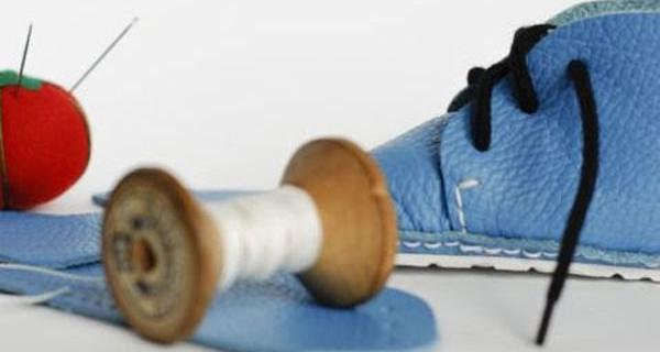 First Baby Shoes: il kit per cucire le scarpe del proprio bambino. Video Tutorial