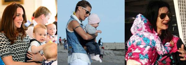 Quale sarà il bambino vip più fotografato dell'estate? VOTA