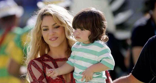 Shakira alla finale di Coppa del Mondo con il piccolo Milan Piquè