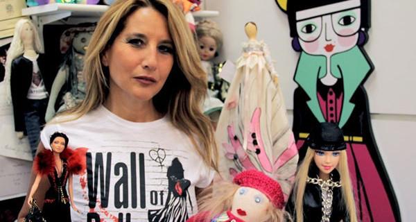Wall of Dolls, a Milano la parete di bambole contro il femminicidio