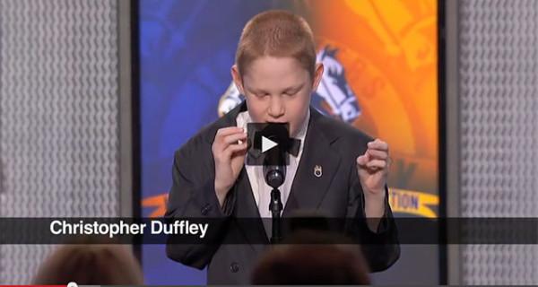 Christopher Duffley, il bambino cieco e autistico che con la sua voce ha incantato il web [VIDEO]