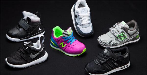 Foot Locker presenta le scarpe per i bambini perfette per il Back To School