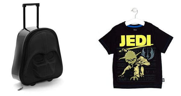 I prodotti di Star Wars per bambini più belli: t-shirt, cover per iPhone e valigia trolley