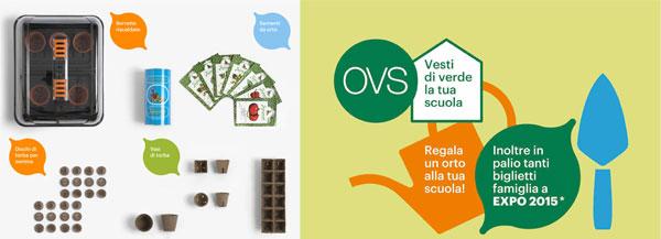 Vesti di verde la tua scuola: il nuovo concorso di OVS dal sapore green