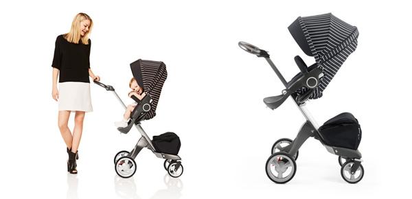Stokke presenta il nuovo Style Kit: vesti il tuo passeggino di un elegante gessato!