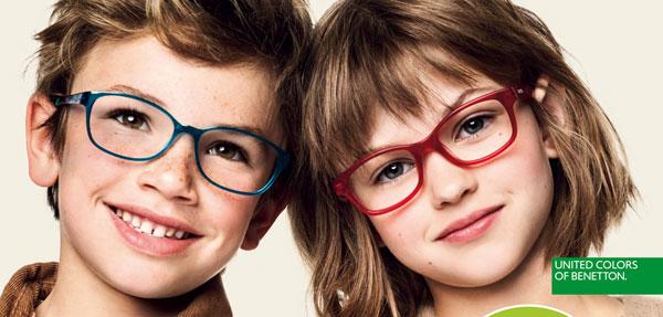 Occhiali United Colors of Benetton per bambini: promozioni e codici sconto