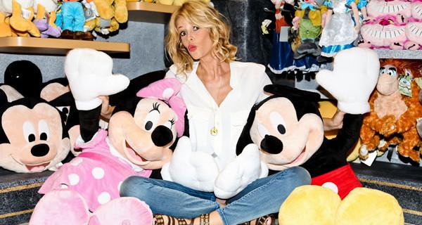 Disney Store riapre a Roma in via del Corso. Alessia Marcuzzi madrina d'eccezione