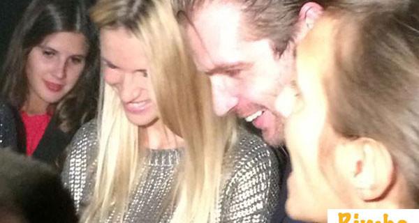 Bimbochic incontra Michelle Hunziker al party adidas e Italian Indipendent, ecco le foto del pancino