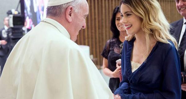 Partita Interreligiosa: tra i protagonisti anche Violetta. L'incontro con Papa Francesco