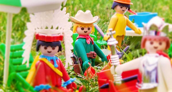 I personaggi Playmobil festeggiano il loro 40esimo compleanno
