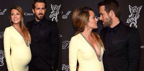 Blake Lively presto mamma: fisico perfetto e pancione meraviglioso all'evento con Ryan Reynolds