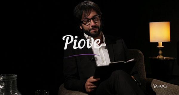 """Matteo Branciamore: da I Cesaroni a intervistatore impertinente. Arriva """"Piove"""""""