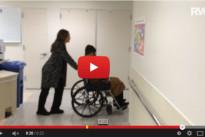 Robbie Williams papà di Charlton Valentine: ecco il nuovo divertente video in ospedale