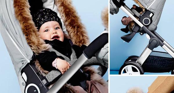 Stokke, la collezione Winter Essential: bambini al caldo nel passeggino anche in inverno