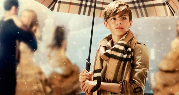 Burberry AI 2014/15: Romeo Beckham protagonista della nuova campagna pubblicitaria