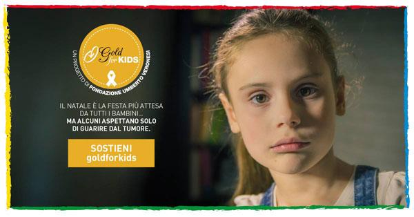 Taste of Christmas e Fondazione Umberto Veronesi insieme per Gold for Kids: il food festival di Natale