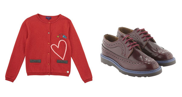 Paul Smith Junior: la collezione Autunno Inverno 2014-15 per bambine ispirata al Natale