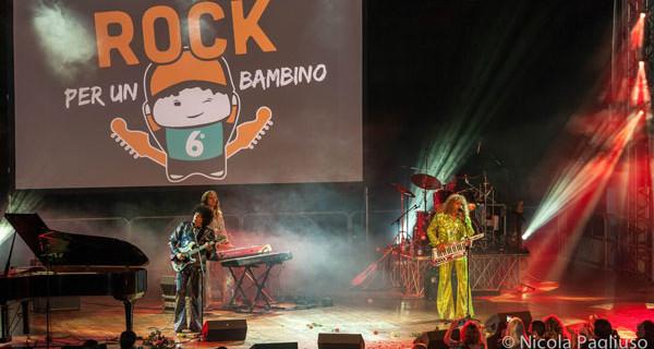 Rock Per Un Bambino: grande prestazione del fotografo Nicola Pagliuso
