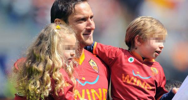 """Francesco Totti parla di violenza negli stadi: """"I miei figli vengono a vedermi giocare ma hanno paura"""""""