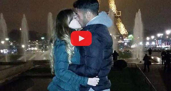 Alessia Cammarota e Aldo Palmeri a Parigi: il video che mostra la bellissima novità