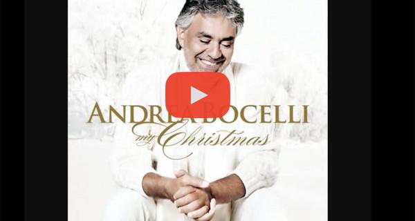 """La Canzone di Natale di oggi: """"God Bless Us Everyone"""" di Andrea Bocelli. Testo, traduzione e video"""