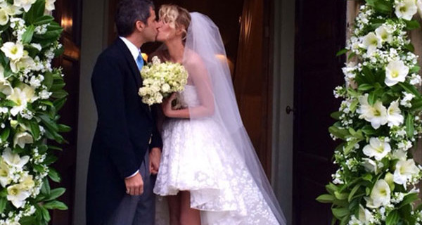 Alessia Marcuzzi si è sposata: le foto del matrimonio con Paolo Calabresi Marconi