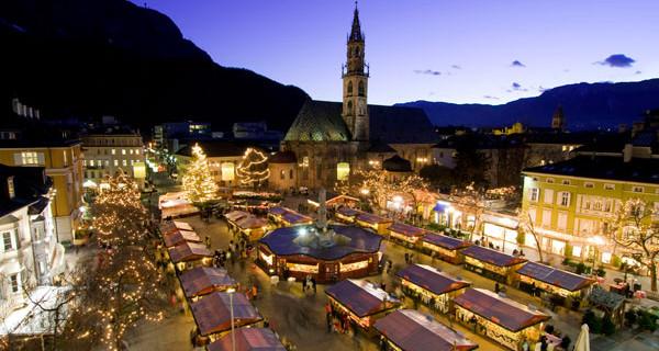 Mercatini di Natale per tutta la famiglia: quello di Bolzano è a basso impatto