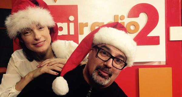 Bimbochic ospite a Radio 2 Rai nel programma Ovunque 6 per parlare dei look durante le feste