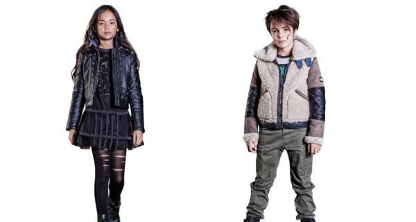 Diesel Kid presenta la collezione per tutti i bambini ribelli e sognatori: ecco military, denim e rock