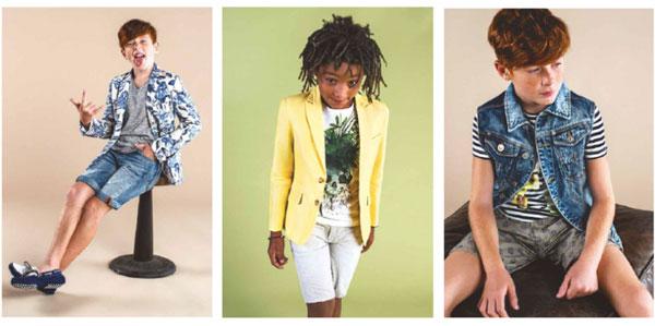 Tendenze moda bambino Primavera Estate 2015: la collezione firmata Antony Morato Junior